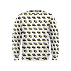 Wasp Bee Eye Fly Line Animals Kids  Sweatshirt