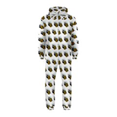 Wasp Bee Eye Fly Line Animals Hooded Jumpsuit (Kids)