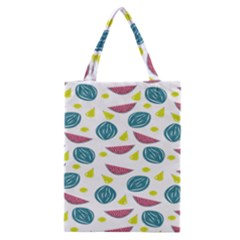 Summer Fruit Watermelon Water Guava Onions Classic Tote Bag