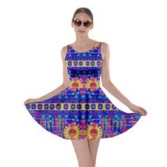 Festive Decorative Moonshine Skater Dress