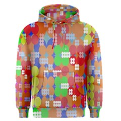Abstract Polka Dot Pattern Men s Pullover Hoodie