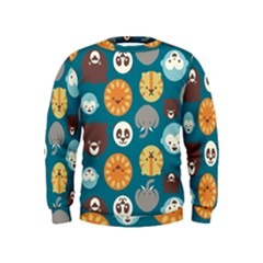 Animal Pattern Kids  Sweatshirt