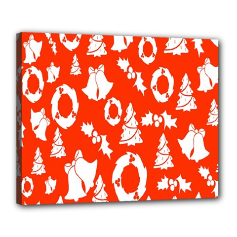 Backdrop Background Card Christmas Canvas 20  x 16