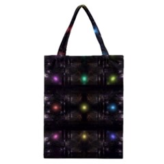 Abstract Sphere Box Space Hyper Classic Tote Bag