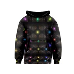 Abstract Sphere Box Space Hyper Kids  Pullover Hoodie