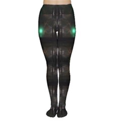 Abstract Sphere Box Space Hyper Women s Tights