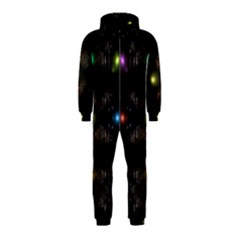 Abstract Sphere Box Space Hyper Hooded Jumpsuit (Kids)