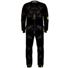 Abstract Sphere Box Space Hyper OnePiece Jumpsuit (Men)