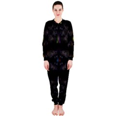Abstract Sphere Box Space Hyper OnePiece Jumpsuit (Ladies)