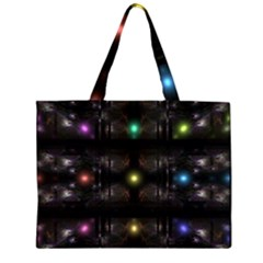 Abstract Sphere Box Space Hyper Large Tote Bag