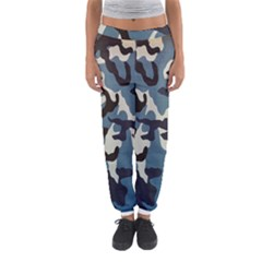 Blue Water Camouflage Women s Jogger Sweatpants