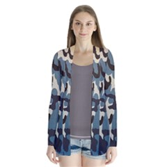 Blue Water Camouflage Cardigans