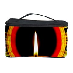 Candle Ring Flower Blossom Bloom Cosmetic Storage Case