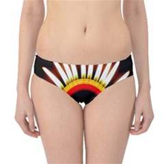 Candle Ring Flower Blossom Bloom Hipster Bikini Bottoms