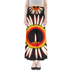 Candle Ring Flower Blossom Bloom Maxi Skirts