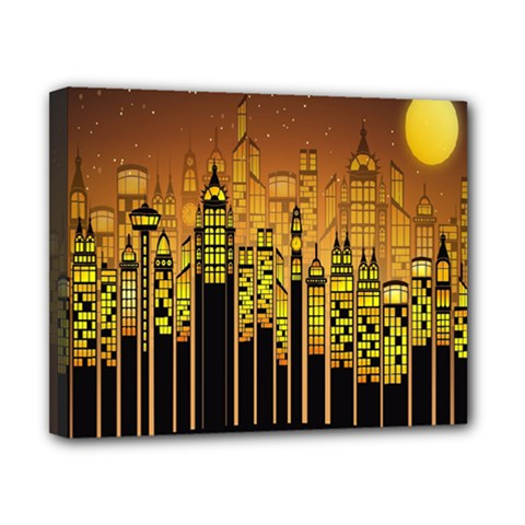 Buildings Skyscrapers City Canvas 10  x 8