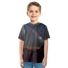 Fairyland Canyon Utah Park Kids  Sport Mesh Tee