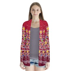 Colorful Christmas Tree Cardigans