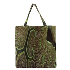 Fractal Complexity 3d Dimensional Grocery Tote Bag