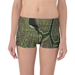 Fractal Complexity 3d Dimensional Reversible Bikini Bottoms