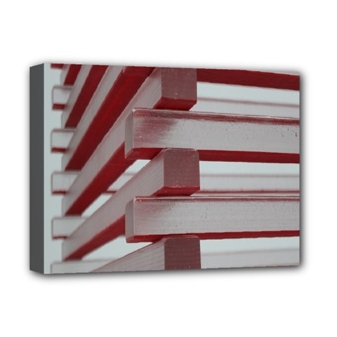 Red Sunglasses Art Abstract Deluxe Canvas 16  x 12