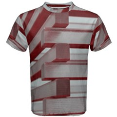 Red Sunglasses Art Abstract Men s Cotton Tee