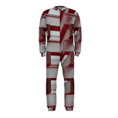 Red Sunglasses Art Abstract OnePiece Jumpsuit (Kids)