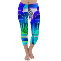 Security Castle Sure Padlock Capri Winter Leggings