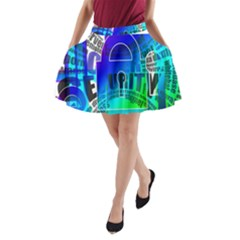Security Castle Sure Padlock A Line Pocket Skirt
