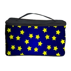 Star Christmas Yellow Cosmetic Storage Case