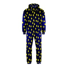 Star Christmas Yellow Hooded Jumpsuit (Kids)