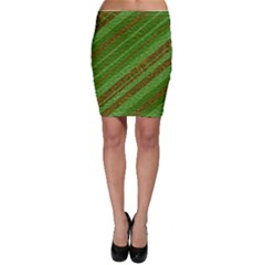 Stripes Course Texture Background Bodycon Skirt