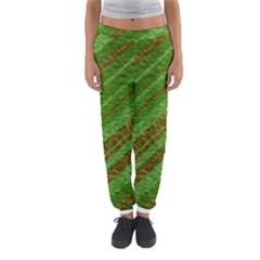 Stripes Course Texture Background Women s Jogger Sweatpants