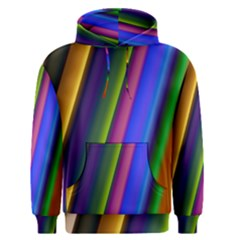 Strip Colorful Pipes Books Color Men s Pullover Hoodie