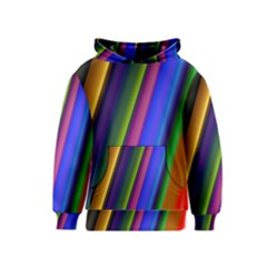 Strip Colorful Pipes Books Color Kids  Pullover Hoodie