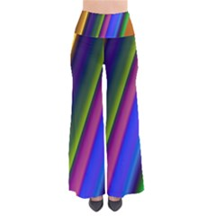 Strip Colorful Pipes Books Color Pants