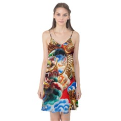 Thailand Bangkok Temple Roof Asia Camis Nightgown