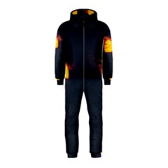 Sunset Ocean Azores Portugal Sol Hooded Jumpsuit (kids)