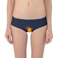 Sunset Ocean Azores Portugal Sol Classic Bikini Bottoms