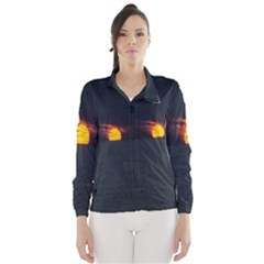 Sunset Ocean Azores Portugal Sol Wind Breaker (women)