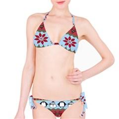 Ugly Christmas Xmas Bikini Set