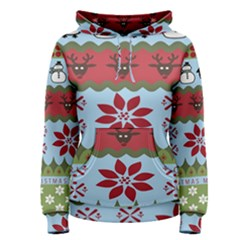 Ugly Christmas Xmas Women s Pullover Hoodie