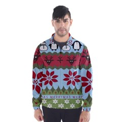 Ugly Christmas Xmas Wind Breaker (Men)