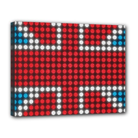 The Flag Of The Kingdom Of Great Britain Canvas 14  x 11