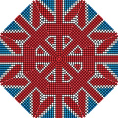 The Flag Of The Kingdom Of Great Britain Hook Handle Umbrellas (Small)