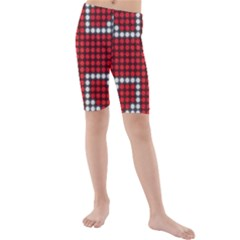 The Flag Of The Kingdom Of Great Britain Kids  Mid Length Swim Shorts