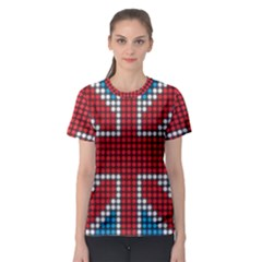 The Flag Of The Kingdom Of Great Britain Women s Sport Mesh Tee