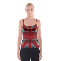 The Flag Of The Kingdom Of Great Britain Spaghetti Strap Top