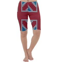 The Flag Of The Kingdom Of Great Britain Cropped Leggings