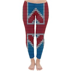 The Flag Of The Kingdom Of Great Britain Classic Winter Leggings